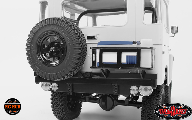 TOUGH ARMOR SWING AWAY TIRE CARRIER W/FUEL HOLDER FOR THE G2 CRUISER