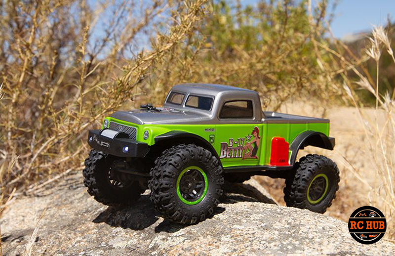 Axial 1/24 SCX24 B-17 Betty Limited Edition 4WD RTR