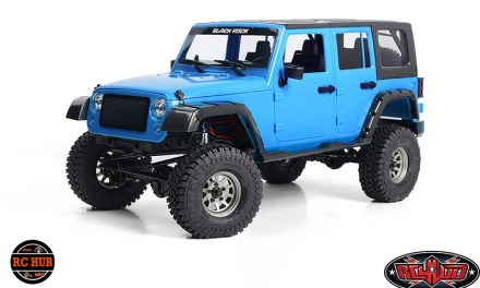 RC4WD CROSS COUNTRY OFF-ROAD RTR W/ 1/10 BLACK ROCK FOUR DOOR BODY SET