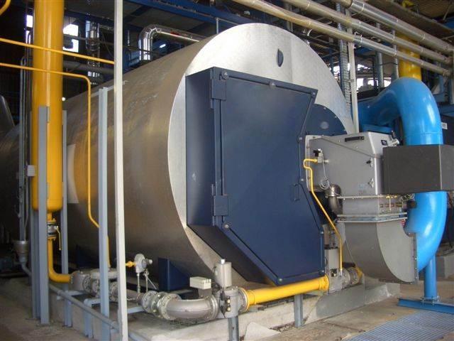 chaufferie industrielle eau surchauffée