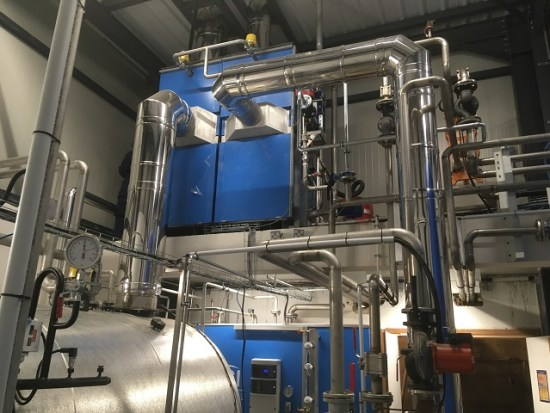 chaufferie vapeur condenseur