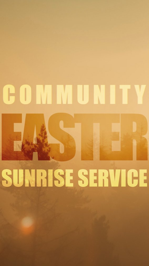 Sneads Ferry Community Sunrise Easter Service