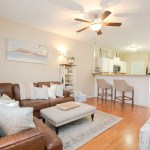 Oyster Landing Townhouse - Living Room - Sneads Ferry NC