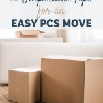 10 Important Tips for an Easy PCS Move - RCI Plus Topsail