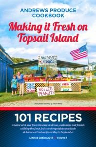 Andrews Produce Cookbook - RCI Plus Topsail