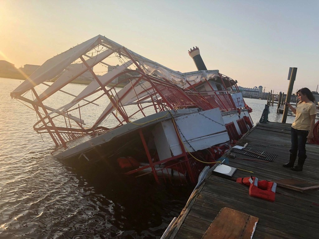 The Belle of Topsail after Hurricane Florence - RCI Plus Topsail