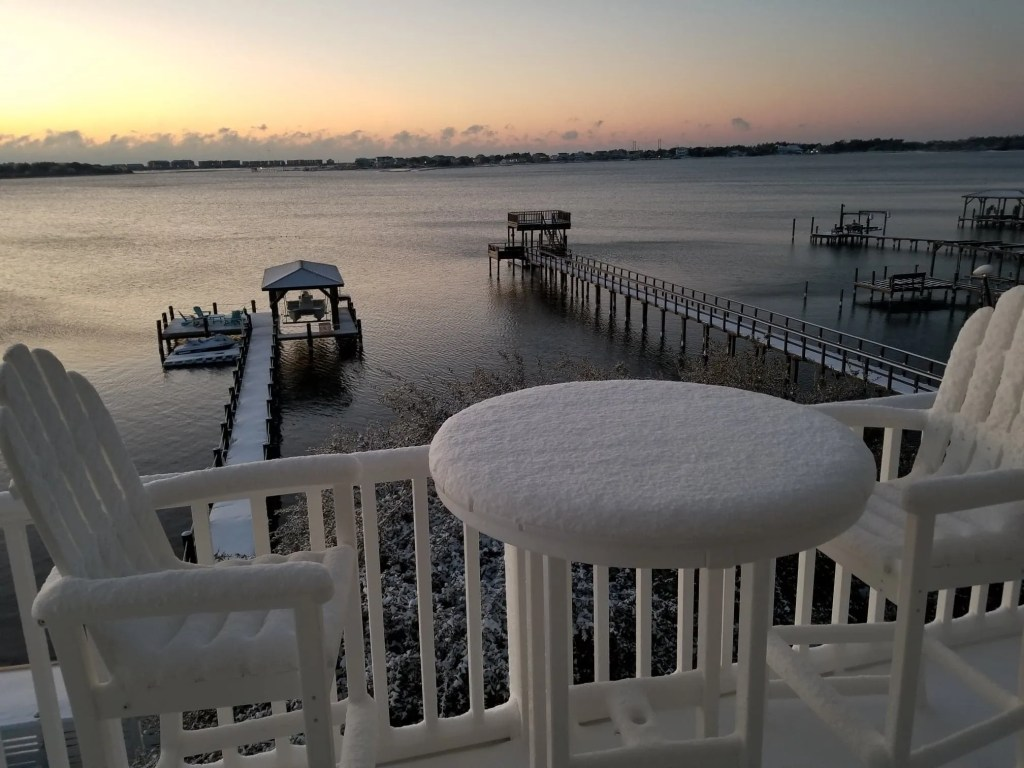 Winter Storm Grayson Liza Barrett Jan 2018 Sneads Ferry NC RCI Plus Topsail