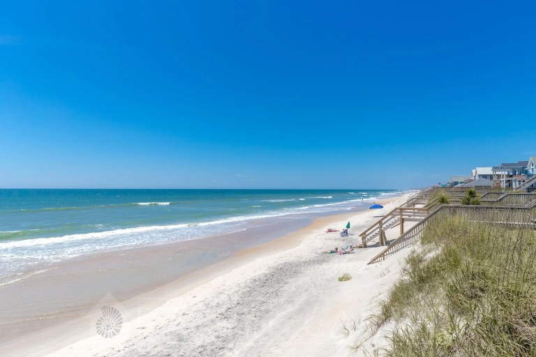 Surf City Beach Dunes - RCI Plus Topsail - Rachel Carter Images