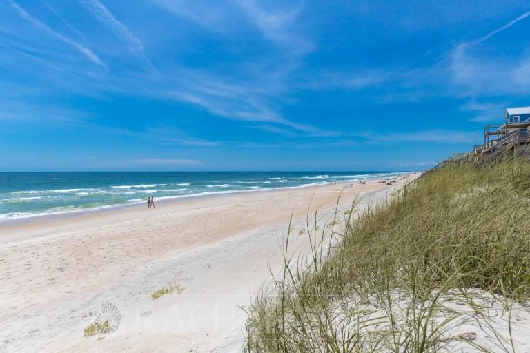 Surf City Beach Dunes Pre-Hurricane Florence - RCI Plus Topsail - Rachel Carter Images