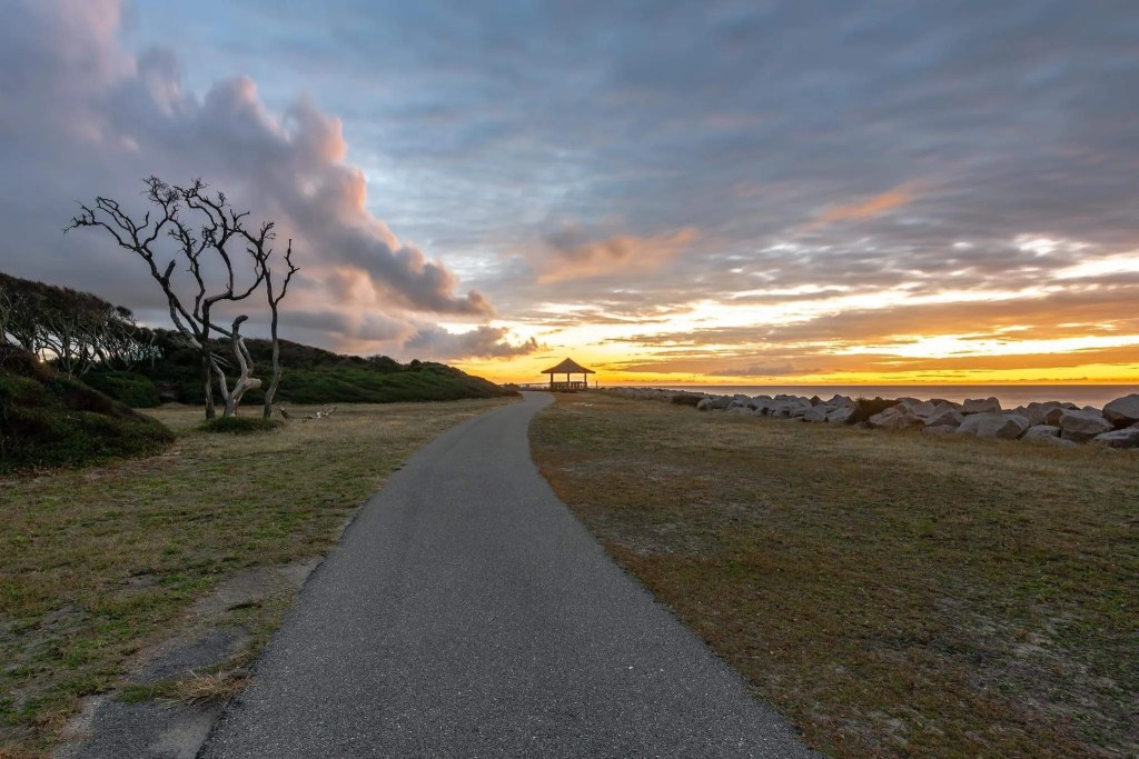 sunset fort fisher rci plus topsail