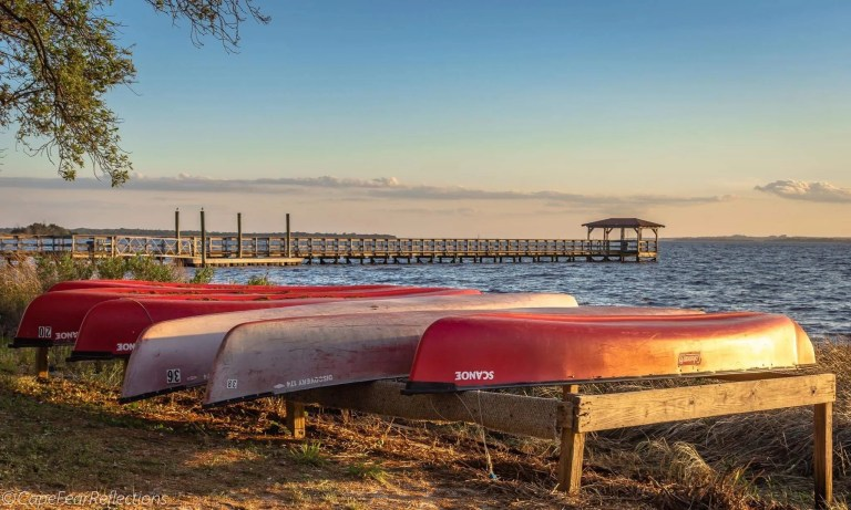 canoes fort fisher rci plus topsail