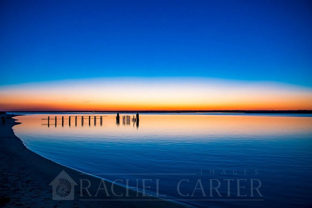 Topsail Beach Sunset, Rachel Carter Images, March 2019