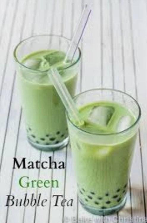 Tiki Turtle's Ice Creams & Boba Milk Teas Matcha Tea - Surf City NC