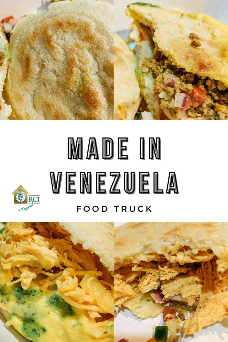 Made in Venezuela Food Truck - RCI Plus Topsail