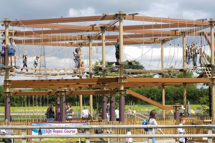 Sky Trail Discovery Ropes Course Mead Farm United Kingdom Family Entertainment