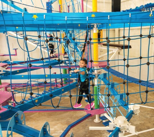 Sky Trail Seeker kid friendly family entertainment attraction RCI