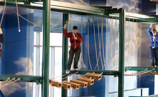 Kalahari Wisconsin Dells Ropes Course