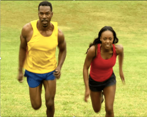 Sprinting and running exercise