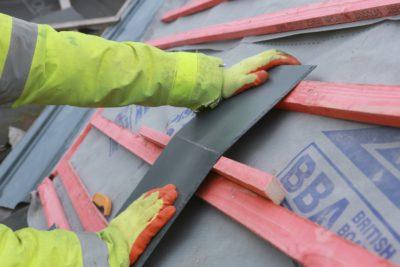 diy slate roof
