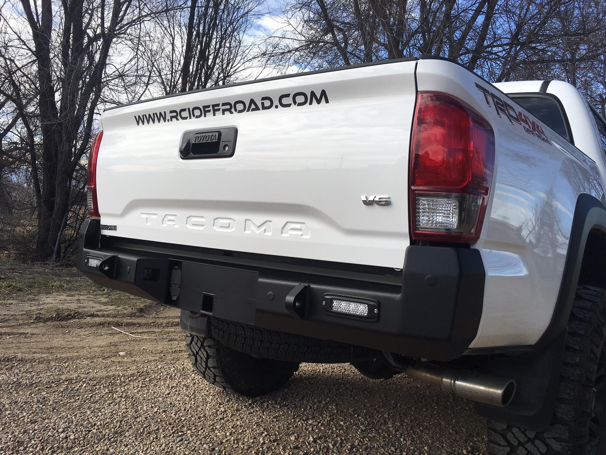 2016+ Tacoma Rear Bumper