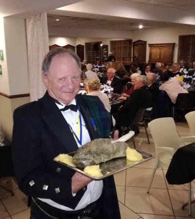 Successful Burns Night Supper Fundraiser