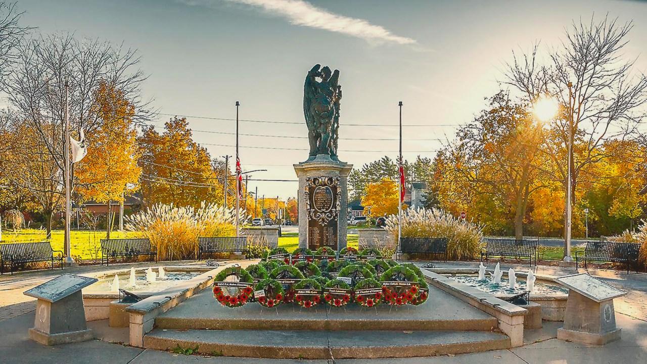 Georgetown Memorial Park Cenotaph