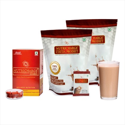 Nutricharge Man and Cocoa ProDiet Doy Pack