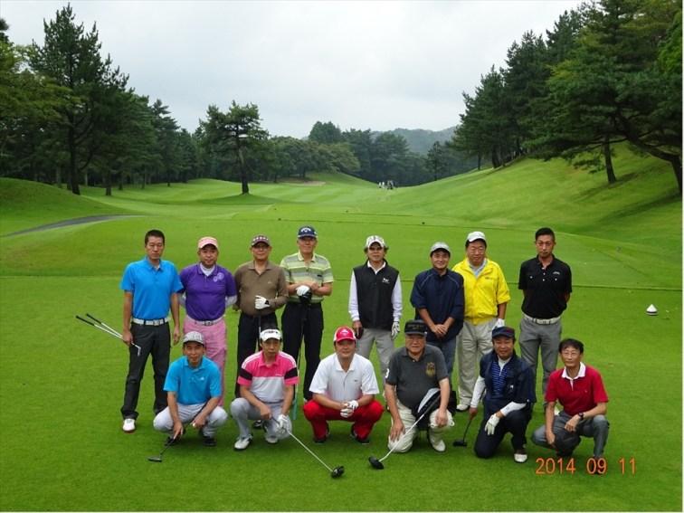 2014-15年度 ゴルフコンペ 第1回