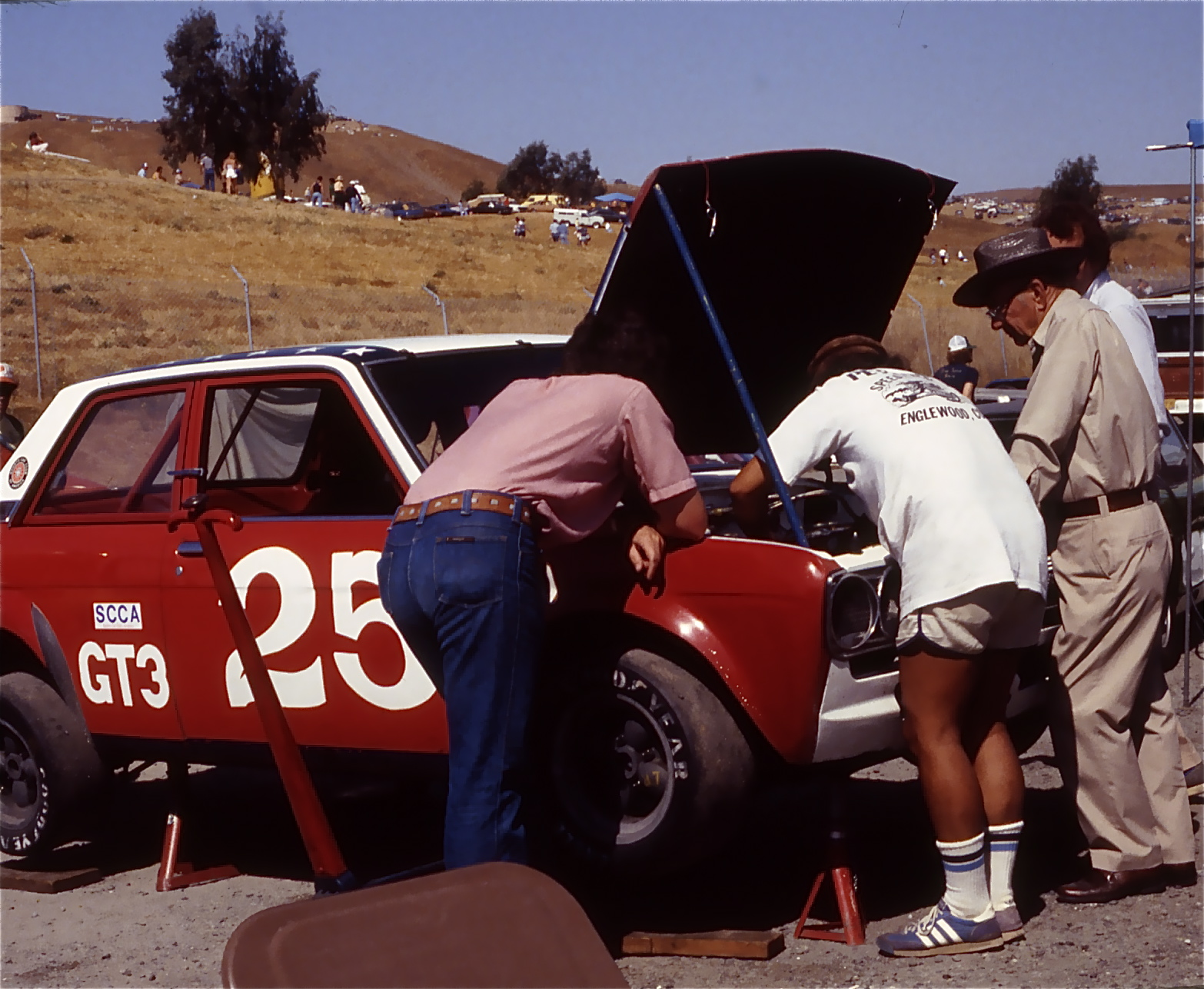 SCCA GT3 1981 Sears Point 4 Hour Enduro.