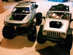 Frankencrawler and Jeep