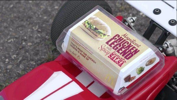A Fast, Big-air Chicken Sandwich