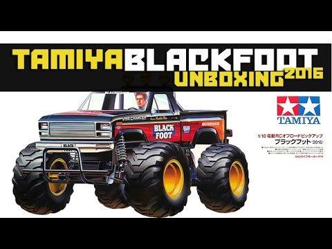 Tamiya Blackfoot 2016 Re-release Unboxing & Builds