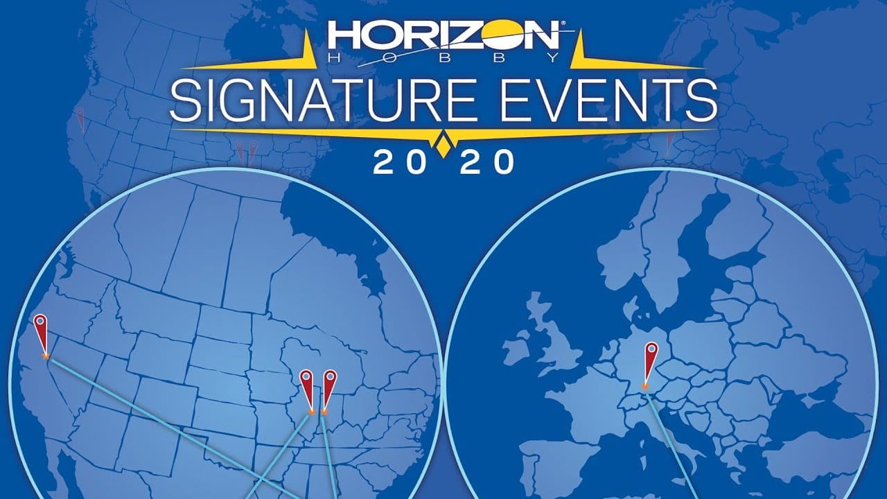 Horizon Hobby Unveils Their Premier R/C Events for 2020