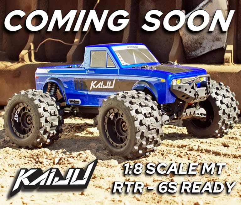 Coming Soon from Redcat Racing: The Kaiju 1/8-scale Monster Truck