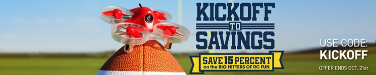 """Save 15% on Select R/C Models and Gear During AMain Hobbies """"Kickoff to Savings"""" Event"""