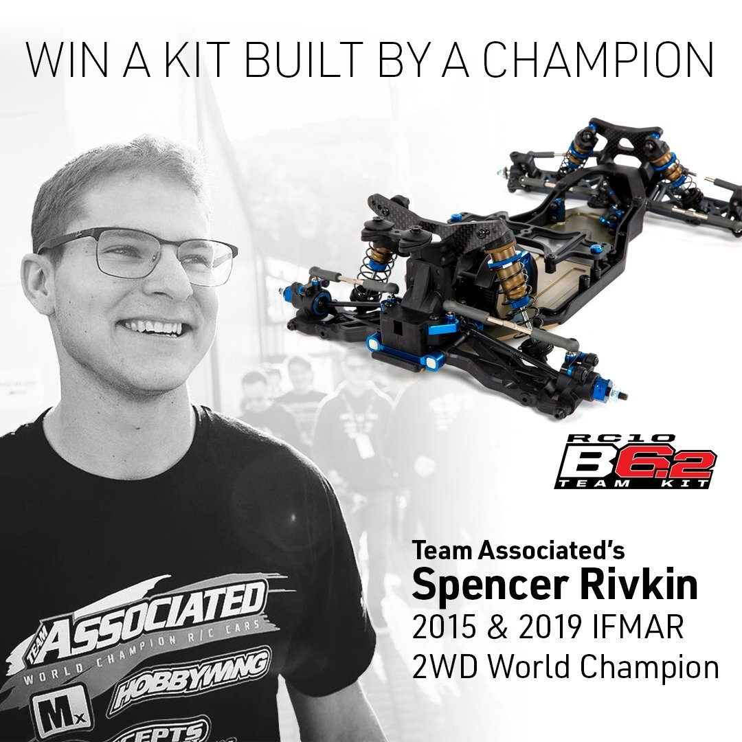 Enter to Win a Team Associated RC10 B6.2 Built by Spencer Rivkin