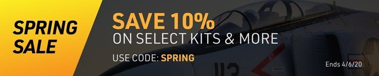 Save on RTRs, Kits, and More During AMain Hobbies Spring Madness Sale