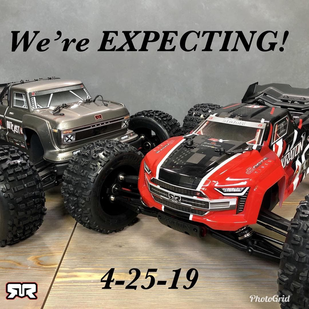 Expect Something New from ARRMA Later Today (4/25/19)!