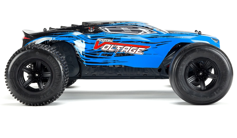 ARRMA Fazon Voltage Mega SRS - Side