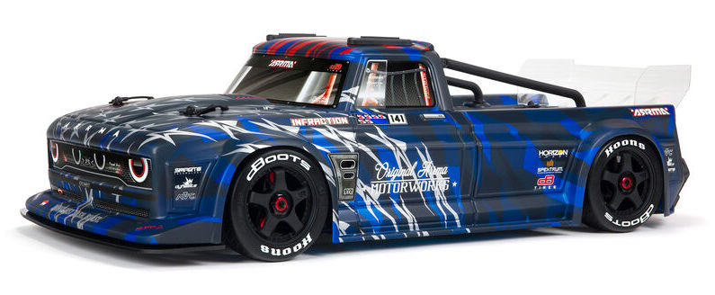 A Revamped Retro Hotrod: ARRMA's Infraction 6S BLX All-Road Truck
