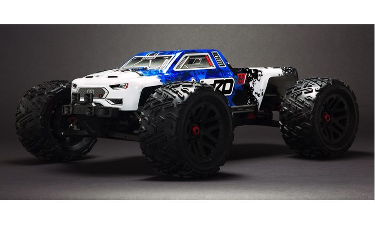 "A Radio-Controlled Monster Truck with ""Brain Power"""