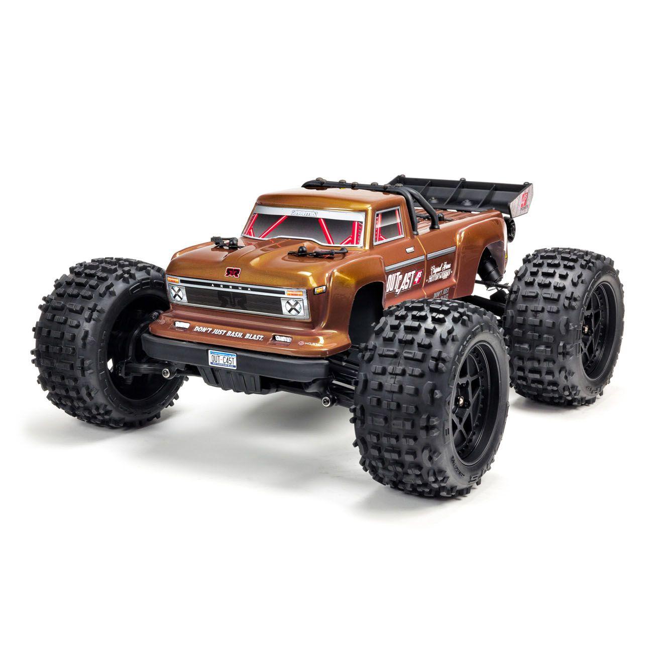ARRMA Outcast 4S  BLX 4×4 Stunt Truck