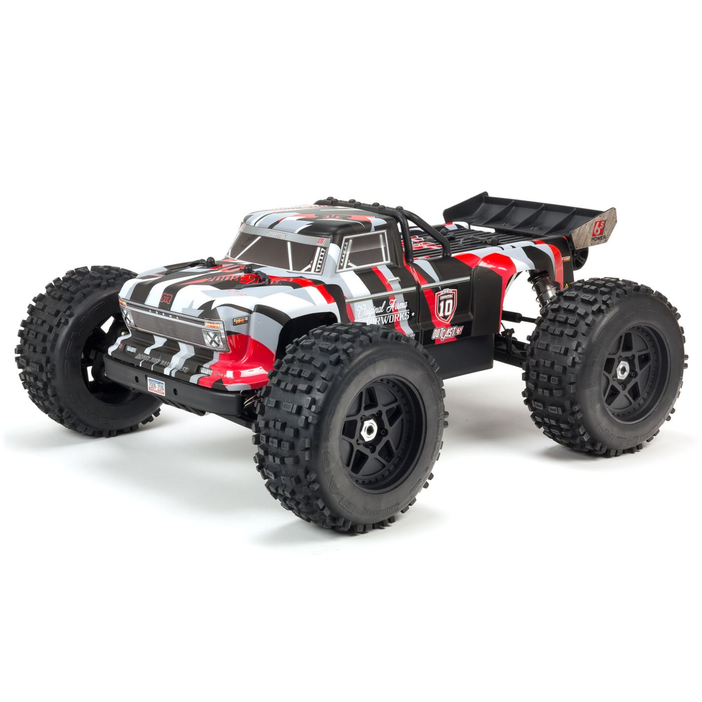 Celebrate 10 Years of ARRMA with the Outcast 6S 10th Anniversary Edition