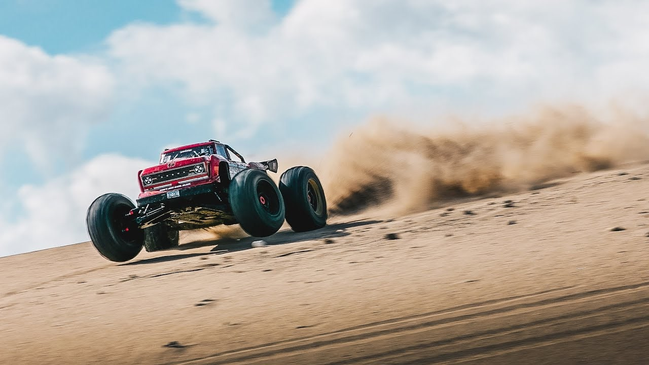 Monster Moves: See ARRMA's Outcast 8S BLX Stunt Truck in Action [Video]