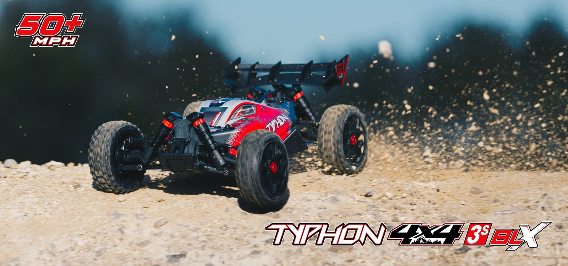 ARRMA Typhon 4x4 3S BLX Buggy - Outdoor Action