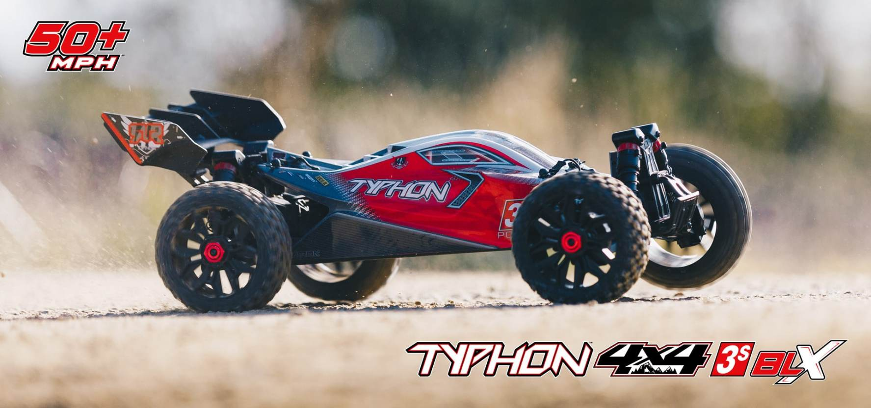 See It In Action ARRMA Typhon 4x4 3S BLX VIDEO