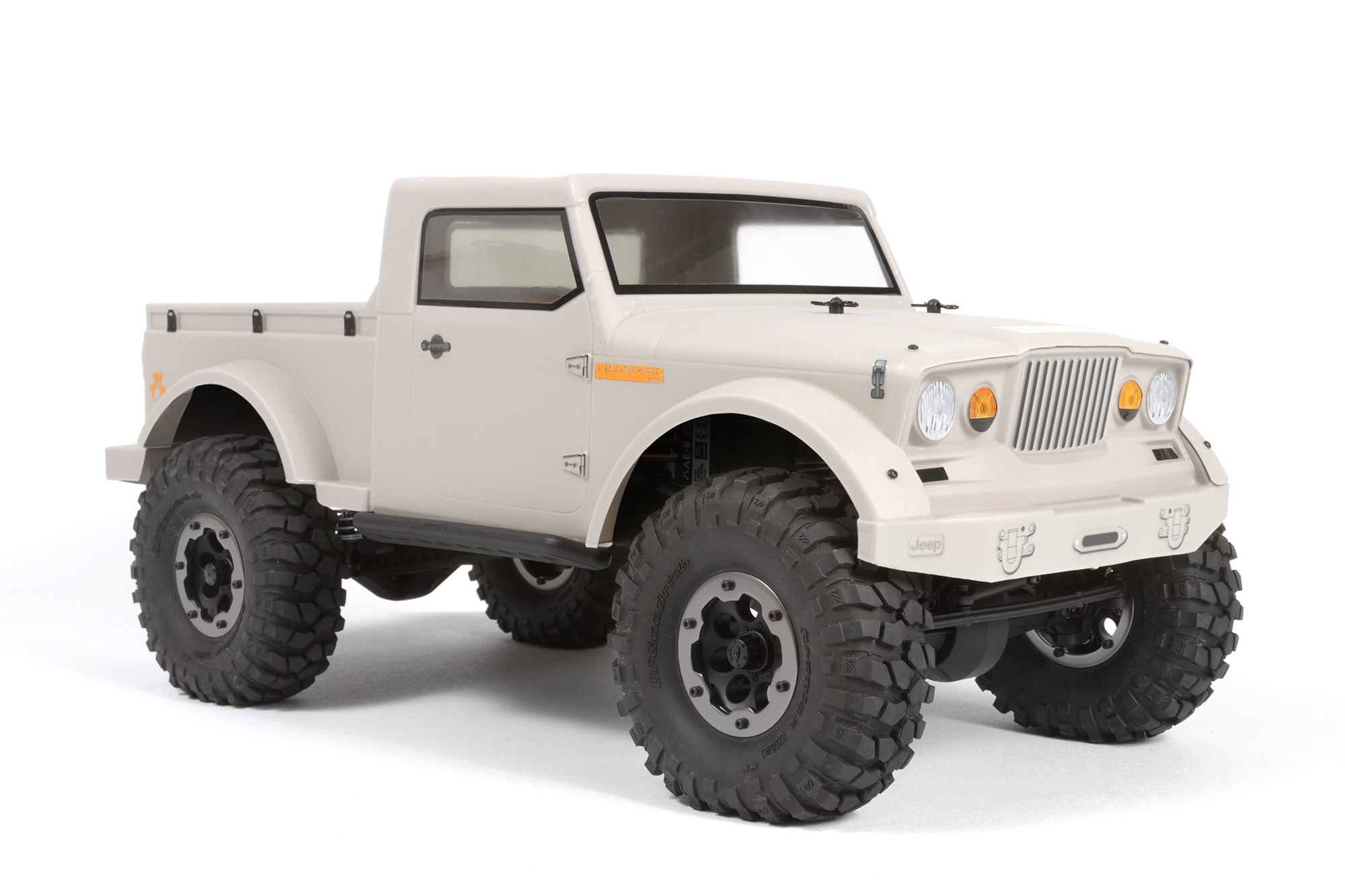 Axial Releases the Jeep NuKizer 715 & Jeep Mighty FC Bodies