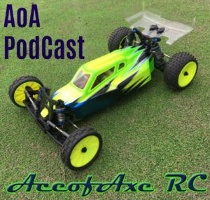 Ace of Axe RC Podcast - Album Cover