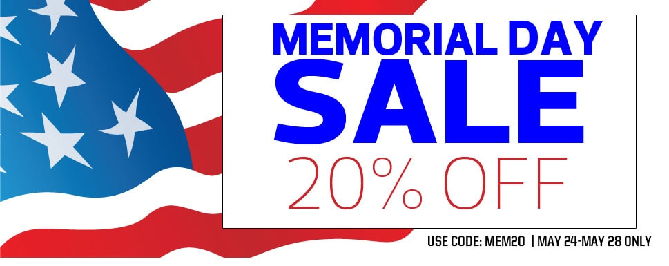 Save 20% During Air Age Store's Memorial Day Sale