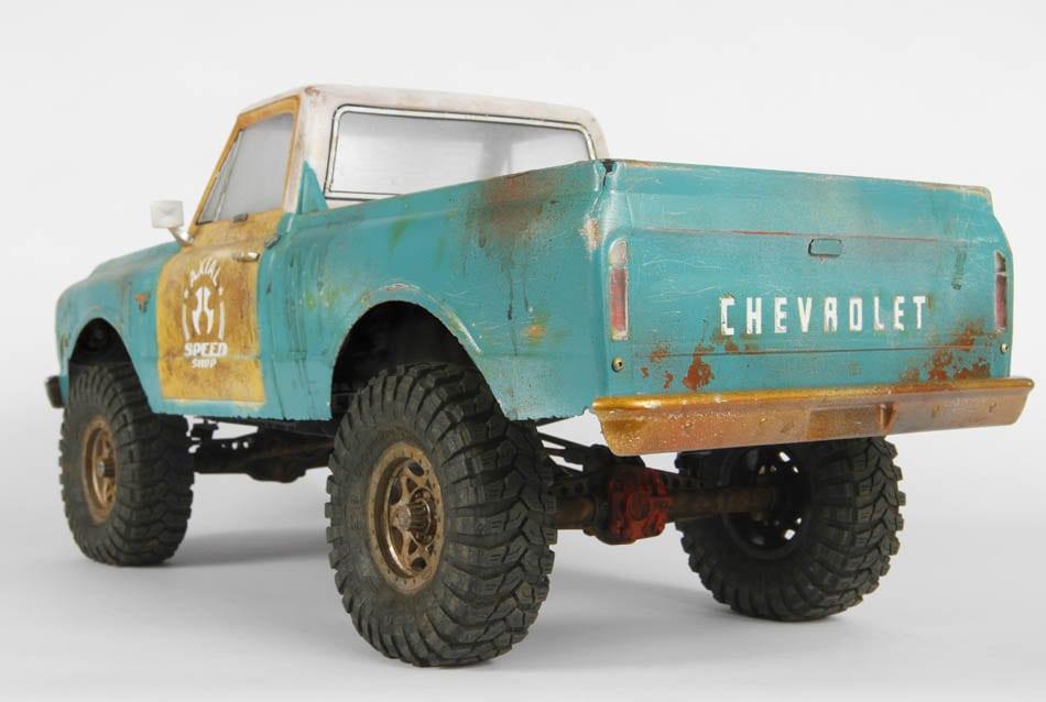 Axial 1967 Chevrolet C-10 Body - Rear